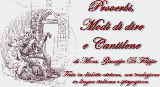 proverbi dialettali abruzzesi di don giuseppe di filippo